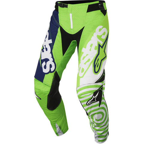 Alpinestars 2018 Techstar Venom MX Pants - Green/Navy