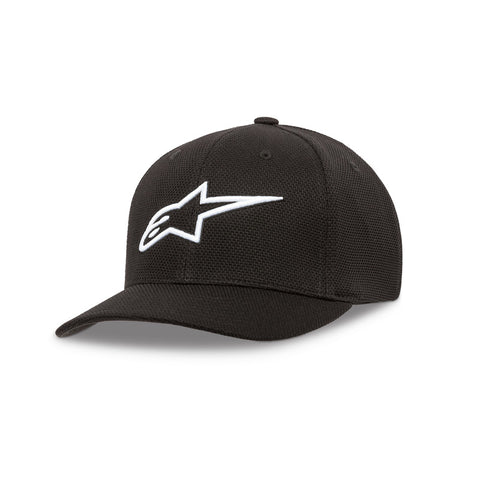 Alpinestars Ageless Stretch Mesh Hat - Black/White