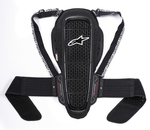 Alpinestars Nucleon KR-1 Back Protector - Black/White