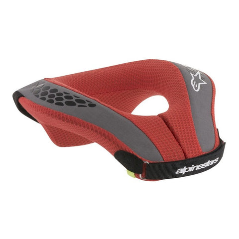 Alpinestars Youth Sequence Neck Roll Protector - Black/Red