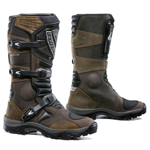 Forma Adventure Motorcycle Boots - Brown