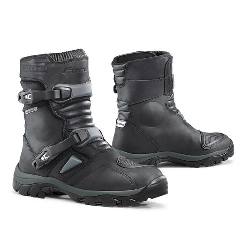 Forma Adventure Low Motorcycle Boots - Black