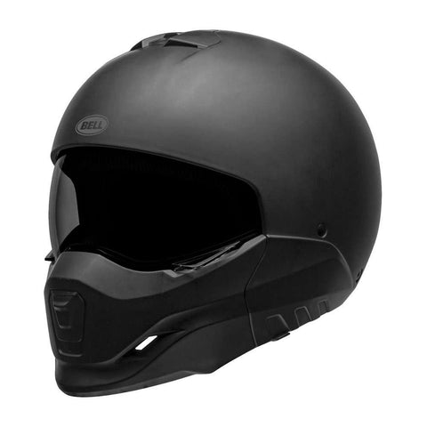 Bell Broozer Motorcycle Full Face Helmet - Solid Matte Black