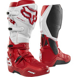 Fox Racing 2018 Instinct Motorcycle Boots - White/Red