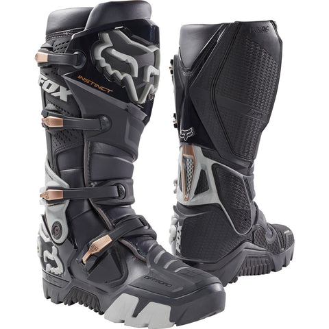 Fox Racing 2019 Instinct Offroad Motorcycle Boots - Charcoal