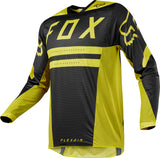 Fox Racing 2018 Flexair Preest Jersey - Dark/Yellow
