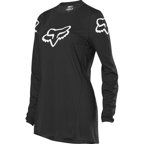 Fox 180 Legion Women's Racing Jersey - Black/White