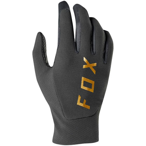 Fox 2019 Flexair Vintage Motocross Gloves - Black