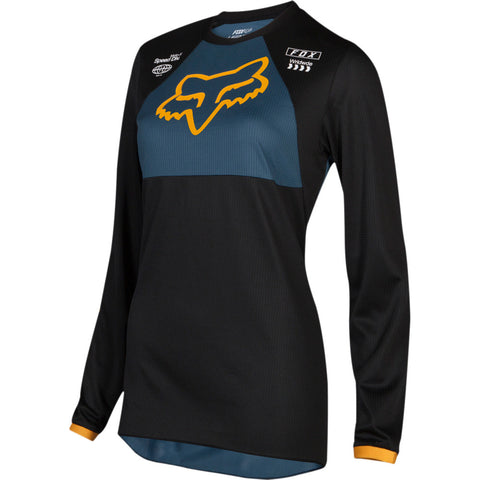 Fox Racing 2019 180 Mata Womens Jersey - Black/Navy