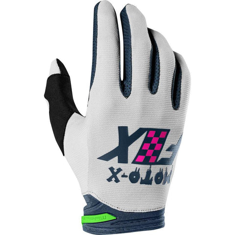 Fox 2019 Dirtpaw Czar Motocross Gloves - Light Grey
