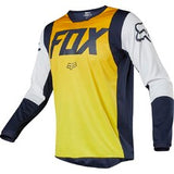 Fox Racing 2019 Le 180 A1 Idol Jersey - Yellow/Navy