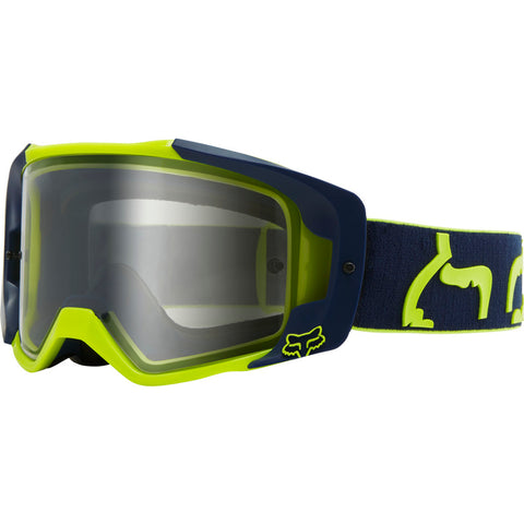 Fox  Mx Vue Dusc Motorcycle Goggles - Navy