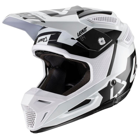 Leatt GPX 5.5 V20.1 Motorcycle Helmet - White