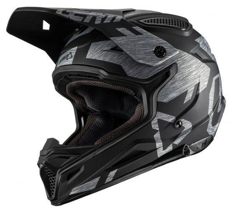Leatt GPX 4.5 V20.1 Motorcycle Helmet - Brushed
