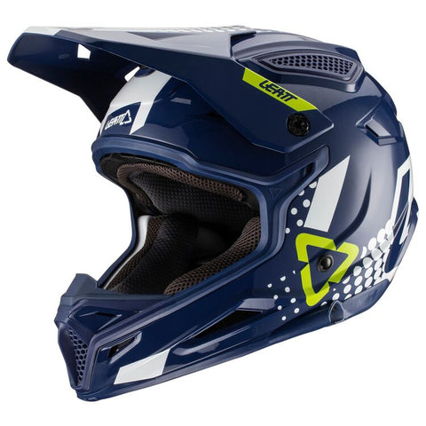 Leatt GPX 4.5 V20.2 Motorcycle Helmet - Blue