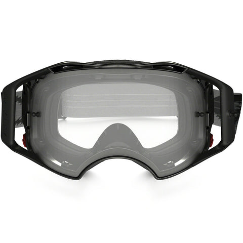 Oakley Airbrake MX Jet Speed Dirt Bike Motocross Goggles - Black