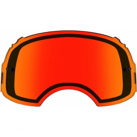 Oakley Airbrake Dual Motocross Goggles Replacement Lens - Persimmon