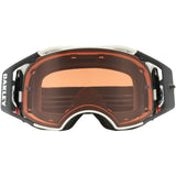 Oakley Airbrake MX Speed Prizm Dirt Bike Motocross Bronze Lens Goggles - Matte White