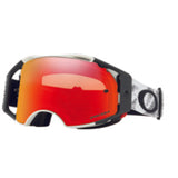 Oakley Airbrake MX Speed Prizm Dirt Bike Motocross Torch Lens Goggles - Matte White
