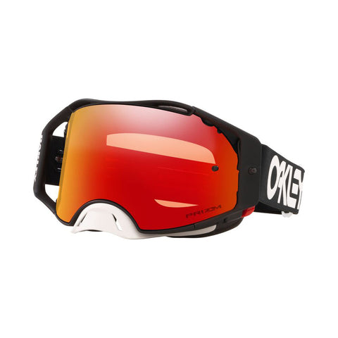 Oakley Airbrake Factory Pilot Goggles With Prizm Torch Iridium Lens - Black