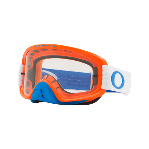 Oakley MX O-Frame 2.0 Dirt Bike Motocross Goggles - Blue/Orange