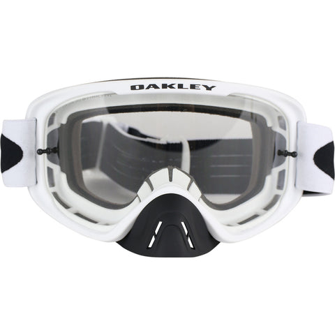 Oakley MX O-Frame 2.0 Dirt Bike Motocross Goggles - Matte White