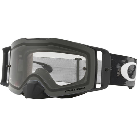 Oakley Front Line MX Speed Prizm Motocross Goggles - Matte Black/Clear