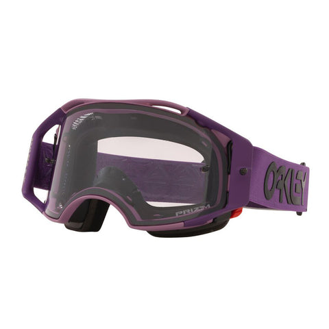 Oakley Airbrake MTB - Heritage Stripe Lavender Goggles with Prizm Low Light Lens