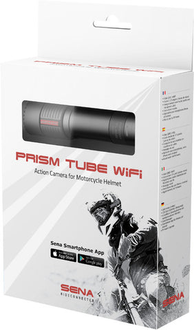Sena Prism Tube WiFi Action Camera for Motorcycle Helmet