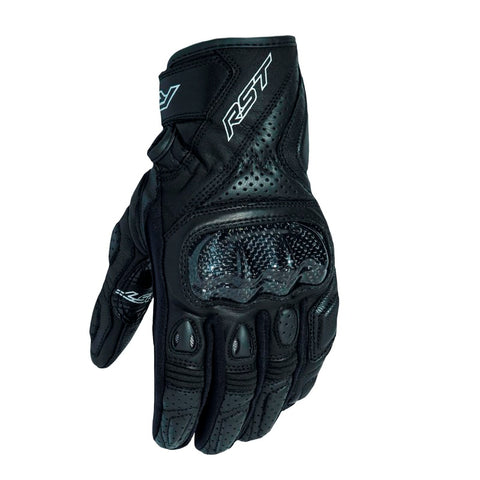 RST Stunt III CE Motorcycle Gloves   - Black