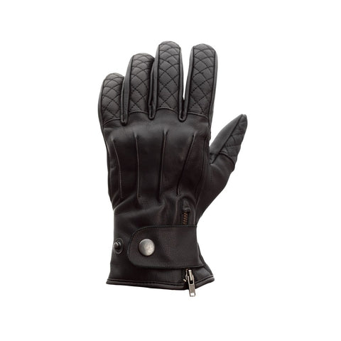 RST Matlock Classic CE Motorcycle Gloves - Black
