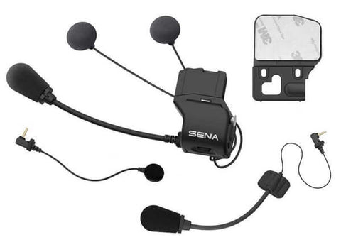 Sena Universal Helmet Clamp Kit with SLIM Speakers for 20S, 20S-EVO and 30K