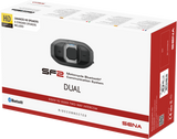 Sena SF2 Motorcycle Bluetooth Communication System Dual Pack