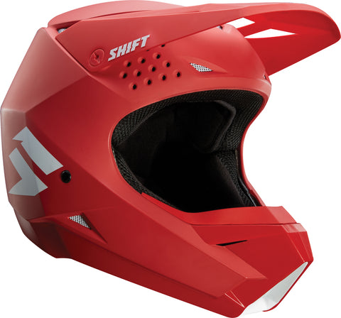 SHIFT WHIT3 Label Matte Red Helmet