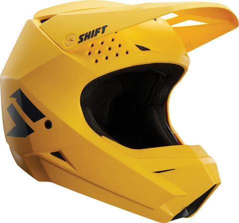 SHIFT WHIT3 Label Matte Yellow Helmet