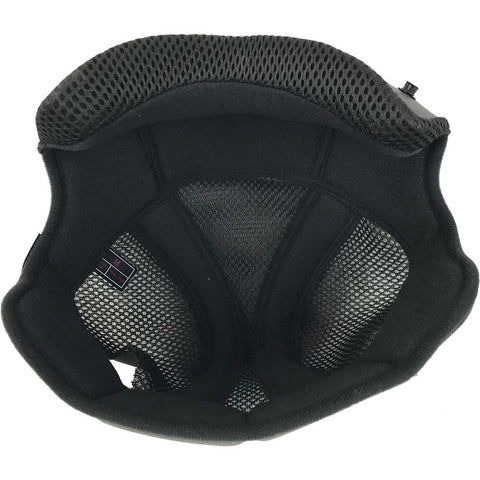 Shift Whit3 Lable Motorcycle Helmet Comfort Liner - Black