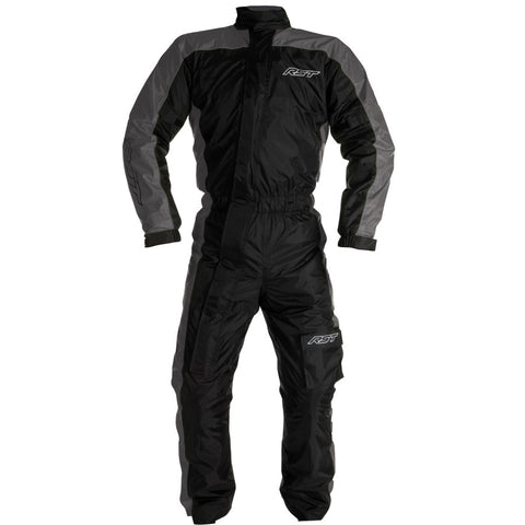 RST Storm Water Proof 1 Piece Suit Black Grey
