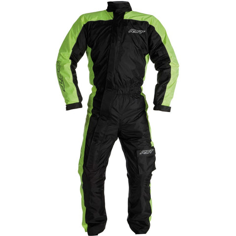 RST Storm Water Proof 1 Piece Suit Black Yellow
