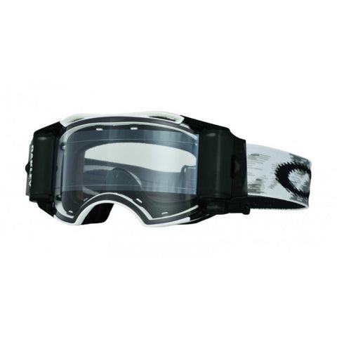 Oakley Airbrake Matt White Race Ready - MotoHeaven - 1
