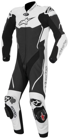 Alpinestars Mens Atem 1 Piece Race Suit - Black/White