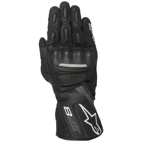Alpinestars Gloves SP-8 v2 Leather - Black/Grey