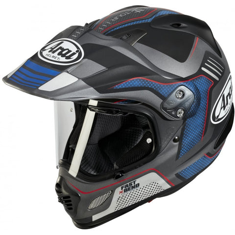 Arai XD-4 Vision Helmet- Grey/Blue/Black