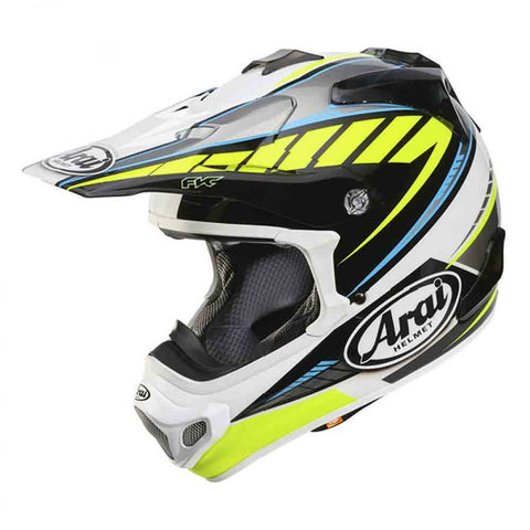 Arai VX Pro 4 Rumble Yellow