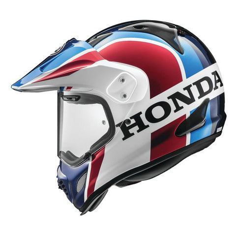 Arai XD-4 Africa Twin Helmet - Blue/Red/White