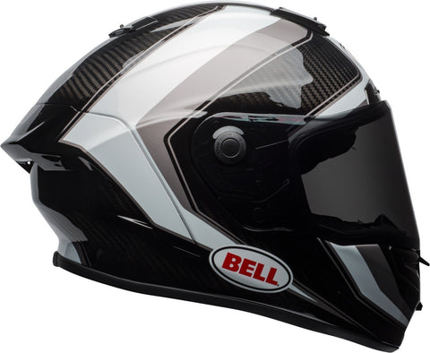 Bell Race Star Sector White/Titanium Helmet HURRY SALE ENDS SOON!