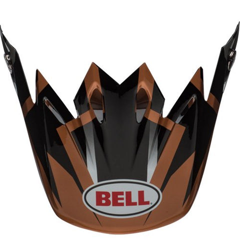 Bell Moto-9 Visor District Black/Copper