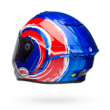 Bell Star Brand Binder Replica MIPS Equipped Helmet - Gloss Blue/Red/Silver