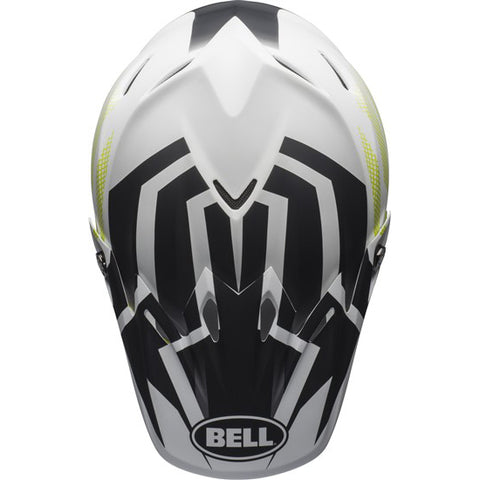 Bell Helmets Moto-9 MIPS Visor District White/Black/Green
