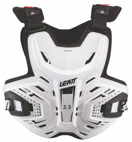Leatt 2.5 Adult Chest Protector - White