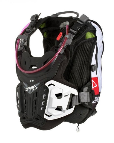 Leatt 4.5 Hydra Chest Protector - Black/White